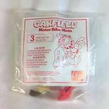 Vintage McDonalds Happy Meal Toys 1980s - GARFIELD Odie Scooter - New Sealed