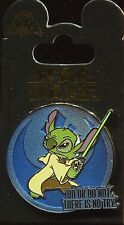 Star Wars Quotes Stitch As Yoda Disney Pin 108030