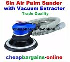 VACUUM 6in ORBITAL PALM AIR SANDER POLISHER PANEL BEATERS HAND AIR POWER TOOL