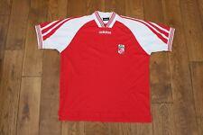 Rot - Weiss Essen Home Football Shirt  1997-98   XL
