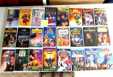 DISNEY, FOX VIDEO, UNIVERSAL AND MORE VHS TAPES LOT OF 24 VIDEOS