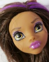 MONSTER HIGH DOLL HOW DO YOU BOO GHOUL SPIRIT CLAWDEEN WOLF HEAD ONLY FOR OOAK