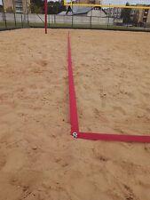 Beach volleyball court trainig lines.