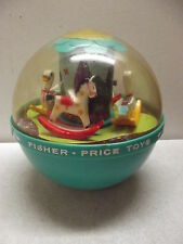 VINTAGE FISHER PRICE ROLY POLY CHIME BALL #165