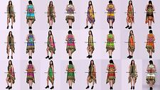 10 PC Wholesale Lot Dashiki Floral Shrug Kimono Cotton Blouse Cardigan Indian