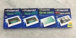 Polaroid SX-70; Time Zero(3), 600 black and white
