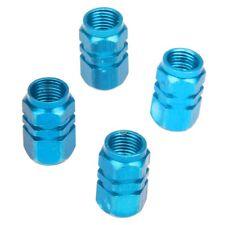 Lot de 4 bouchons de valve en Alu pour pneus de velo, moto, voiture ... - B X8N5