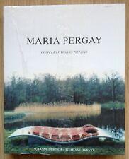 book : MARIA PERGAY, complete works 1957-2010 (meubles en acier,  Pierre Cardin)