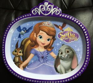 Disney Sophia the First Child Plastic Plate Toddler baby Kid