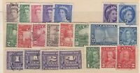 Canada KGV/QEII Collection Of 22 Incl Postage Dues Mint/VFU J1410