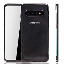 Samsung Galaxy S10 Plus Hülle Case Handy Cover Schutz Tasche Schutzhülle Schwarz