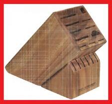 Peer Sorensen Acacia Wood 17 Slot Knife Block