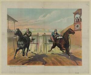 2 Sulky Race,July 2,c1882,Horse Racing,Harness Racing,Jockeys,Equestrian 3155