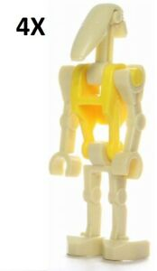 LEGO STAR WARS 3343-2000 BATTLE DROID COMMANDER FIGURE NEW RARE GIFT