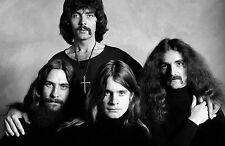 Lámina-Black Sabbath (imagen Ozzy Osbourne Heavy Metal Música Arte Bat)