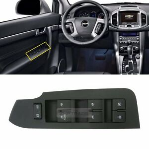 OEM Left Master Window Switch Lever Assembly for CHEVROLET 2006 - 2015 Captiva