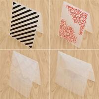 Embossing Folder Scrapbooking DIY Prägeschablone Streifen Schmetterling Blume 1x