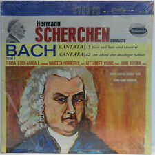 ORIG Westminster WST 17080 SCHERCHEN Bach Cantata 35 & 42 Teresa Stich-Randall