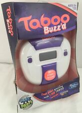 Taboo Buzz'd (Buzzed) Fast Pass Guessing Game Great for Travel Batteries Inc