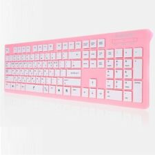 PLEOMAX PKB-550/PINK USB Keyboard Wired Standard Keyboard Skin include PKB550