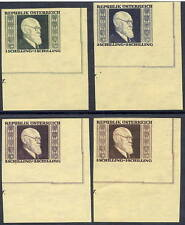 AUSTRIA 1946 Renner imperforate set MNH / **