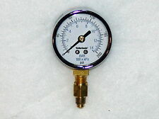 "Fuel Oil Pressure Test Gauge with adaptor (1/8"" NPT to 3/16"" flare) --OIL BURNER"