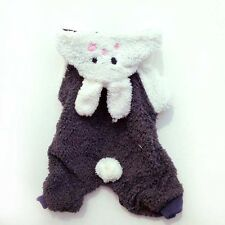 Bunny Outfit Custome dog clothes Chihuahua Small Breeds New M