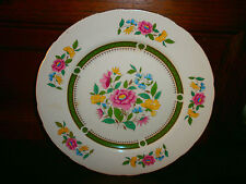 assiette décorative signée  royal  cauldon    made  in  england   NEW  LUDLOW