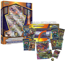 Mega Garchomp EX Premium Collection Pokemon Card Box | 8 Boosters Playmat Holo