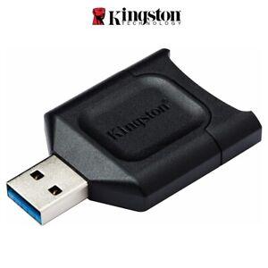 SD Card Reader Kingston UHS-II SD Card Reader USB 3.2 Memory Card Reader MLP