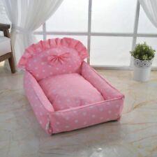 Princess Handmade Pet Dog Cat Bed House Sofa Cushion Mat Cover Removable S,M