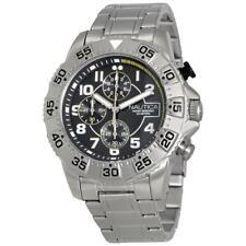 Mens Watch NAUTICA NSR 104 NAD16004G Chrono Steel Bracelet NEW