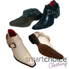 Monti Albani - Zapatos de cordones para hombre, color negro, talla 42.5