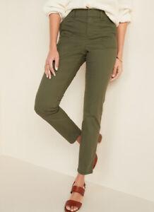 Las Mejores Ofertas En Pantalones Ajustados Old Navy Verde Para Mujeres Ebay