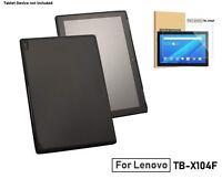 TPU Silicone Flexible Cover For Lenovo Tab E10 TB-X104F & Glass Screen Protector