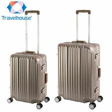 Travelhouse® London Koffer Set - Sonderedition Gold Handgepäck + Reisekoffer M