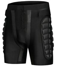 OHMOTOR 3D Padded Protective Shorts. Hip, tailbone, and thigh protection-Size XL