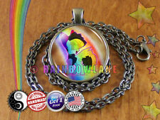 MLP My Little Pony Movie Songbird Serenade Necklace Pendant Jewelry Charm Gift