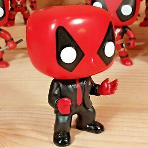 Deadpool Suit Tie #145 Marvel Comics PX Preview Exclusive Funko Pop Vinyl Figure