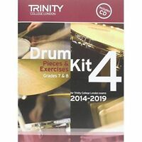 Drum Kit 2014-2019 Book 4 Grades 7 & 8 by Trinity College London (Mixed media...