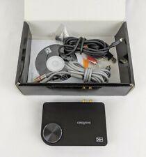 Creative Labs SB1090 USB Sound Blaster X-Fi Surround 5.1 COMPLETE VG+