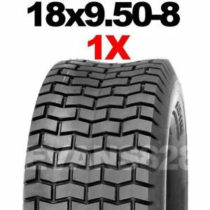 18x9.50-8 Ride On Lawn Mower Garden Tractor Turf Tyres Tyre & Tube Sets 18 950 8