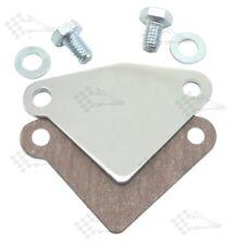 Chrome EGR Block Off Plate - SB Small Block Chevy 283-400