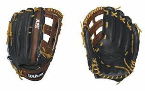 "Wilson WTA2KRB161799 RHT A2K Baseball Outfield Glove/Mitt 12.75"""