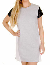 Cotton Short Sleeve Casual Jumper Dresses for Women