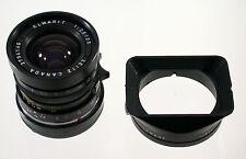 Elmarit M 2,8/28 28 28mm F 2,8 Leica m3 m6 MP m9 LEITZ no. 2734146 + Hood 12501