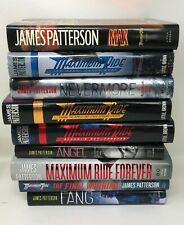 MAXIMUM RIDE James Patterson Lot 1-9 Set Angel Fang Nevermore All HB/DJ VGC