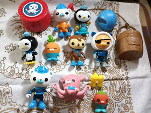 Octonauts Octo-Crew Lot #2 Action Figure Kid Childrens Toy Doll Kids Gift