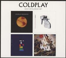 COLDPLAY - 4 CD CATALOGUE SET (PARACHUTES/VIVA LA VIDA/X&Y/+)  4 CD  POP  NEW+