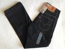 Levi's Big Boys 505 Regular Fit 3D Black Denim Jean Straight Leg 14 Slim 14S NWT